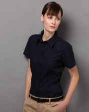KK360 Kustom Kit Ladies' Workwear Short Sleeve Oxford Shirt